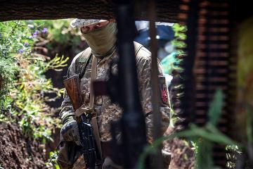 Okupanci wczoraj na Wschodzie 14 razy złamali zawieszenia broni