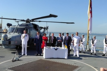 ウクライナ、英国と艦船と海軍基地建設の覚書に署名