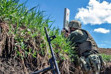 Donbass : les occupants continuent d'utiliser des armes lourdes