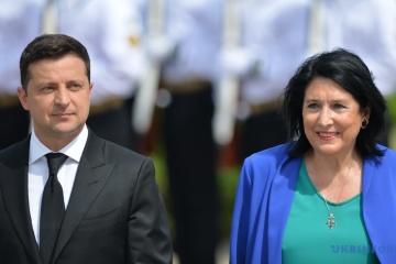 Krim-Plattform: Selenskyj hofft auf aktive Zusammenarbeit mit Georgien bei Sicherheit im Schwarzen Meer