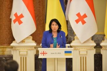 Cyberbezpieczeństwo i Morze Czarne - Zurabiszwili nazwała zadania Ukrainy i Gruzji na drodze do NATO