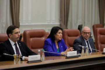 Zourabichvili destaca tareas de Ucrania y Georgia en el camino hacia la OTAN