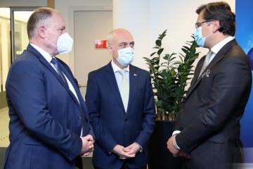 ウクライナ、ジョージア、モルドバの3国、「連合トリオ」でブリュッセル訪問