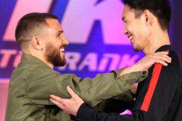 Boxen: Lomachenko und Nakatani tauschen Blicke