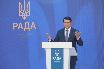 Ukraine grateful to Greece for its continued support for territorial integrity – Razumkov