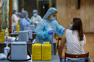 Over 122,000 COVID-19 vaccine doses given in Ukraine on Oct 6