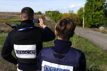 Occupiers continue digging trenches in Luhansk region – OSCE