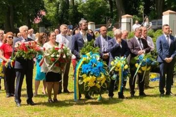 W Przemyślu uczczono pamięć bojowników o niepodległość Ukrainy i Polski