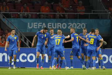 Ukraine beats Sweden to reach quarter-finals of European Championship for first time ever
