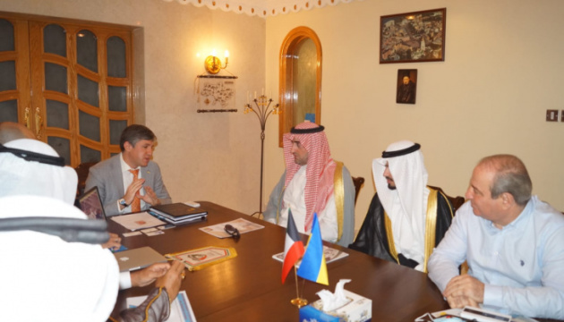 Balanutsa informs Kuwaiti delegation about investments and business opportunities in Ukraine