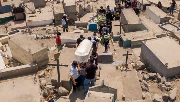 У Перу різко зросла кількість смертей від COVID-19 після корекції даних