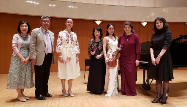 У Йокогамі відбувся концерт голови Японсько-української мистецької асоціації