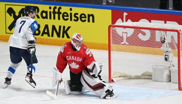 ЧС-2021 з хокею: Фінляндія по булітам обіграла Канаду, Швейцарія розгромила британців