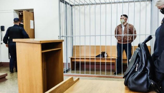 МОЗ Білорусі розповіло про стан політв'язня, який намагався скоїти самогубство на суді