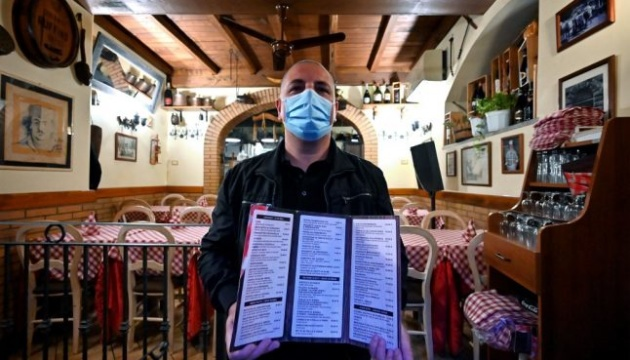 В Італії відновили обслуговування клієнтів всередині закладів харчування