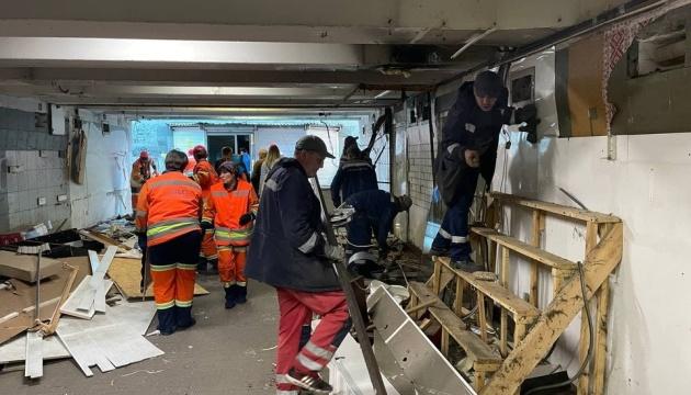 Від МАФів звільнили майже 30 підземних переходів у Києві