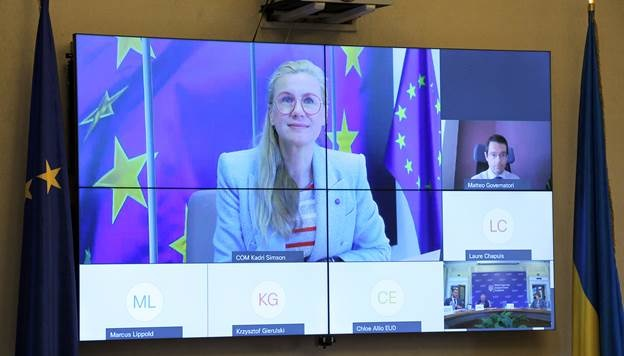 Ukrainian energy minister, EU commissioner discuss Nord Stream 2
