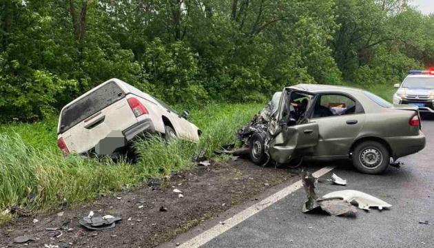 На Харківщині в «лобовій» ДТП загинули троє людей