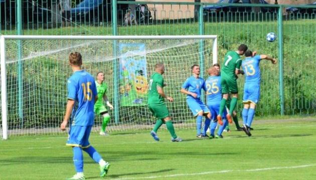 Збірна журналістів зіграла у футбол проти депутатів