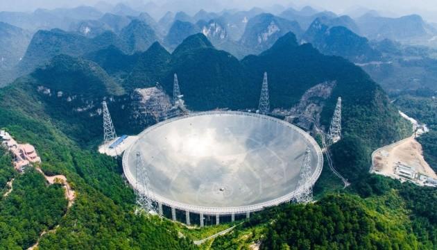 Китайський телескоп передав дані про швидкість сонячного вітру всього за 20 секунд