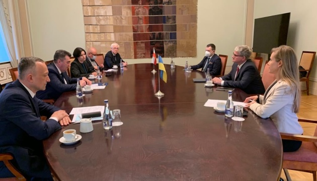 Данілов у Литві обговорив можливість включення ЛитПолУкрБригу в документи НАТО