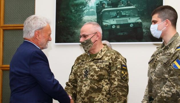 Хомчак зустрівся із президентом американського фонду «Потомак»