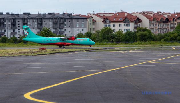 «Се файно»: в Ужгороді відновили авіасполучення з Києвом