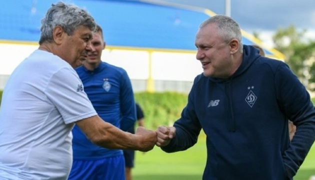 Суркіс прокоментував продовження контракту з Луческу