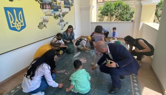 Маленькі українці в Азербайджані відсвяткували День захисту дітей
