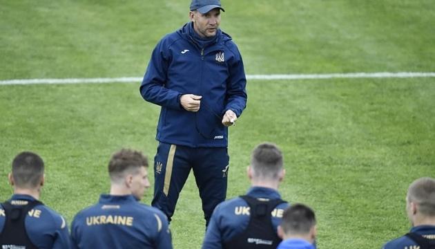 Андрей Шевченко назвал стартовый состав сборной Украины на матч с Северной Ирландией