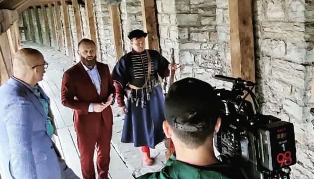 На Хмельниччині зняли фрагмент литовського серіалу про гетьмана Ходкевича