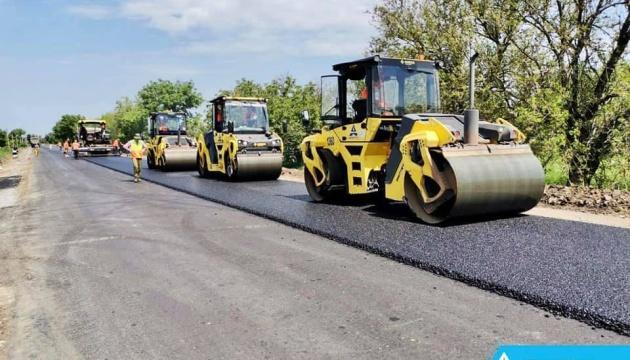 На Одесчине завершается ремонт трассы Винница - Великая Михайловка