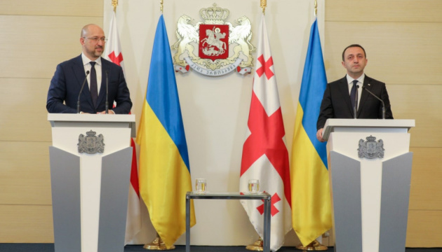 Shmygal: Las acciones de Rusia en la región del Mar Negro incitan a Ucrania y Georgia a fortalecer la cooperación