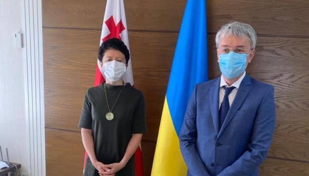 Ткаченко рассказал, чего ждет от культурного сотрудничества с Грузией