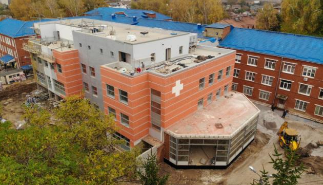 У Вінниці добудували корпус екстреної допомоги за 100 мільйонів
