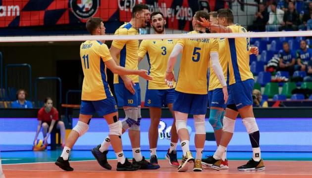 Збірна України з волейболу перемогла Словаччину у Золотій Євролізі