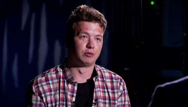 «Говорить не сам»: батько Протасевича заявив, що його сина залякали перед інтерв'ю