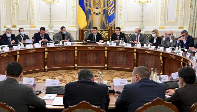Selenskyj beruft Sicherheitsrat ein. Acht Fragen auf Agenda