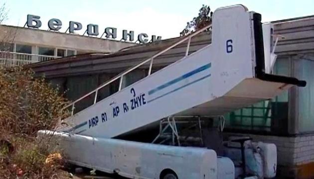 Бердянський аеропорт можуть відновити в рамках будівництва військово-морської бази