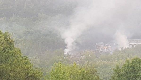 У Сербії назвали розмір збитків від пожежі на фабриці боєприпасів