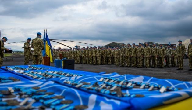 Украина увеличивает миротворческий контингент в Конго - решение СНБО