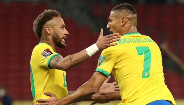 Бразилія обіграла Еквадор і впевнено лідирує у відборі на ЧС-2022