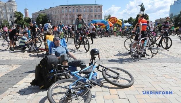 У Києві проходить Всеукраїнський велодень-2021