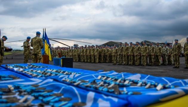 Ukraine increases peacekeeping contingent in Congo – NSDC decision