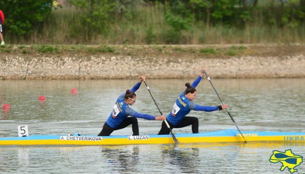 Українська пара Лузан – Четверикова виграла «золото» ЧЄ з веслування