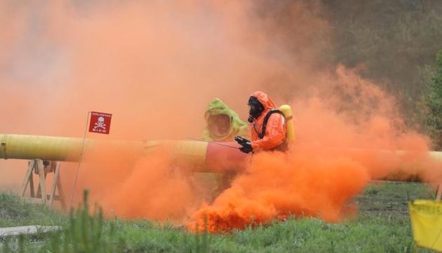 Напад на блокпост і витік хімікатів: на Харківщині пройшли масштабні навчання