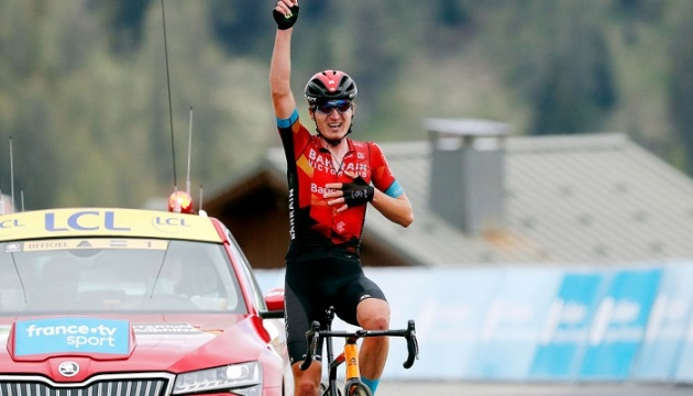 Українець Падун виграв етап престижної велогонки «Критеріум Дофіне»