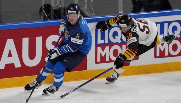 Фінляндія перемогла Німеччину у півфіналі чемпіонату світу з хокею