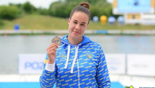Українка Людмила Лузан виграла чотири медалі на ЧЄ з веслування