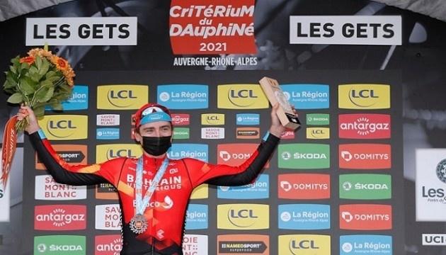 Падун выиграл королевский горный этап «Критериума Дофине»